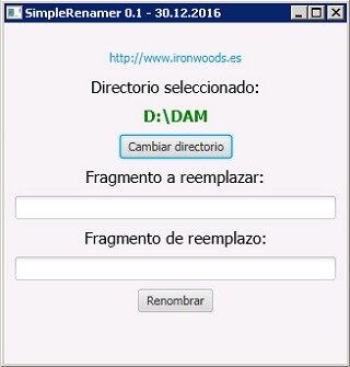 captura SimpleRenamer